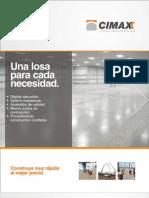 Brochure Cimax / Losas industriales