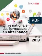 Catalogue Alternance 2018