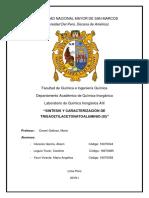 Copia de seguridad de Práctica N°4 Trisacetilacetonatoaluminio(III)