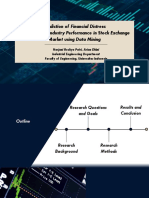 Prediction of Financial Distress Analyzing the Industry Performance in Stock Exchange Market Using Data Mining