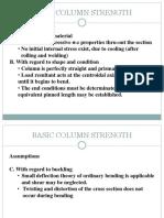 Structural Steel Design Columns for MSCE