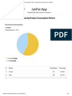 PDF Report Cloth Cleaning Product Consumption Pattern 7144