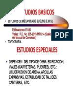Estudios Basicos