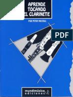 P. Wastall. Aprende tocando el clarinete.pdf