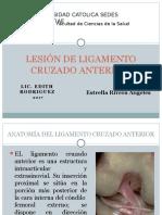 lesion de ligamento cruzado anterior caso clinico.pptx