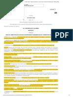 Ley 540 de 2000 Ley de Archivo
