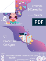 criterion d summative----cancer