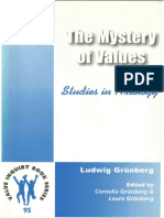Ludwig Grunberg - The Mystery of Values - Studies in Axiology