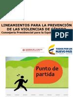 Lineamiento Prevencion Violencias Presentacion