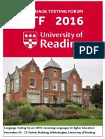 LTF 2016 Programme