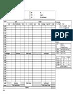Fluid Balance Chart