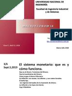 DINERO E INFLACION (MACROECONOMIA)