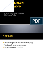 Persalinan Sungsang Dr. Retno, Sp.og