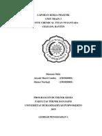 laporan kerja praktek PT LOTTE CHEMICAL TITAN NUSANTARA