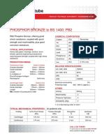 Bronze Pb 2 Phosphor Bronze