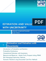 Estimation & Valuation SPE