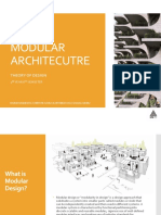Modular Architecutre