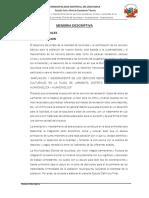 """AMPLIACION Y MEJORAMIENTO DE LOS SERVICIOS RECREATIVOS, CIVICOS Y CULTURALES EN LA PLAZA DE LARMENTA, DISTRITO DE IZCUCHACA – HUANCAVELICA – HUANCAVELICA"""""""