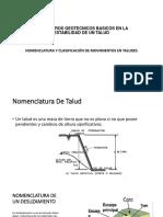 Parametros Geotecnicos Basicos en La Estabilidad de Un