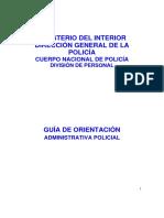 Guia administrativa para futuros funcionarios del CNP