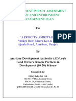 EIA and EMP of Amritsar Aerocity