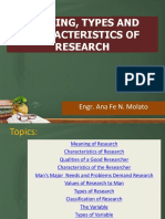 topic 1 nature & characteristics of research & topic 2 types of research.pptx