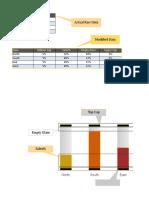3D Glass Fill Infographics