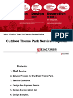 Outdoor Theme Park Design Service Proposal