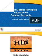 The Social Justice Principles Found in the Creation Accounts