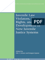 (Onati International Series in Law and Society) Eric L. Jensen, Jorgen Jepsen - Juvenile Law Violators, Human Rights, And the Development of New Juvenile Justice Systems -Hart Publishing (2006)