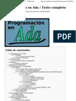 Programacion en Ada