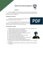 Manual Básico Para El Oficial de Segurida1