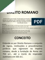 História Do Direito - ROMANOS.pptx