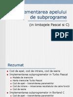 Cap7_Implementarea apelului de subprograme.ppt