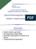 10 Analisi in Regime Sinusoidale