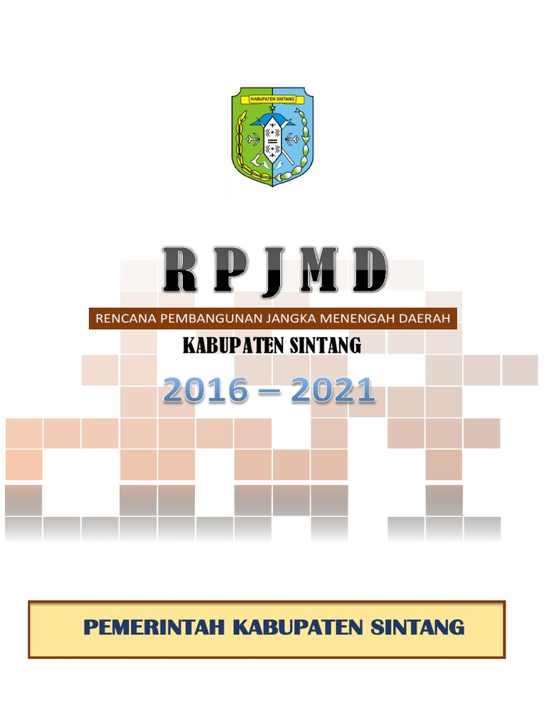 Rpjmd 2016 2021 Pdf