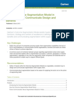Gartner Article - Use the Outcome Segmentation Model in Supply Chain to Communicate Design and Benefits