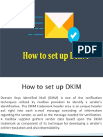 How to set up DKIM
