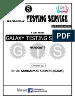 GTS Help Guide MCAT
