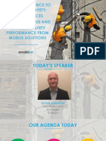 Steven Robinson Enablon Best Practices in Getting Value and Improved Safety Performance From Mobile Solutions