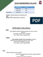 8051 Microcontroller PPT-1