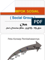 Kelompok Sosial Masyarakat (Pert-6)