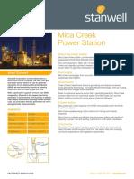 Fact Sheet Mica Creek MARCH 2018 v2