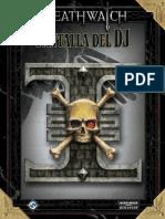 Deathwatch Pantalla Del DJ Libro
