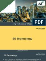 5G Technology for Webinar