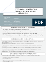 Velky Warehouse Case Study Group#4