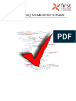 FHL Programming Standards for NetSuite