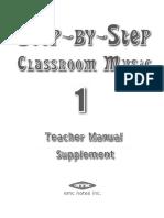 grade 1 lesson