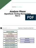 5_Analyze - Hypothesis Testing Normal Data - P1.pptx