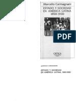Marcello Carmagnani - Estado y Sociedad en América Latina